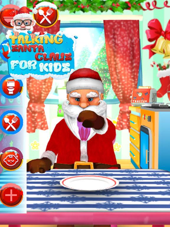 Talking Santa Claus For Kids screenshot 9