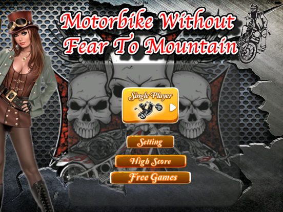 Motorbike Without Fear To Mountain Pro - Game Traffic Steel screenshot 6