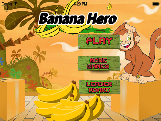 Banana Hero - A Fun Monkey Game screenshot 6