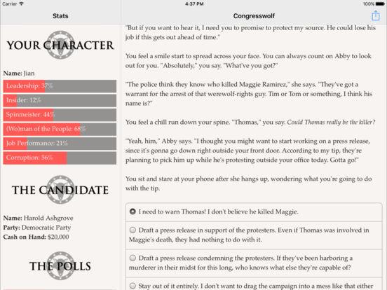 Congresswolf screenshot 8