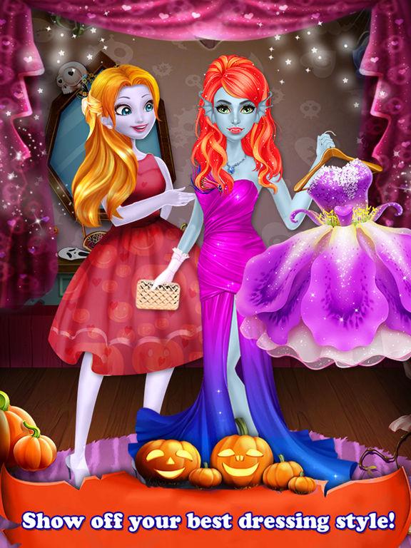 Halloween Holiday Girl Salon screenshot 9