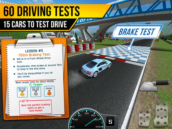 Race Driving School Car Racing Driver License Test screenshot 8