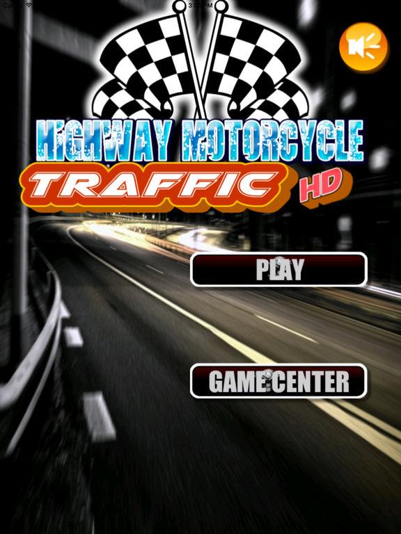 Highway Motorcycle Traffic HD - Amazing Extreme Speed screenshot 6