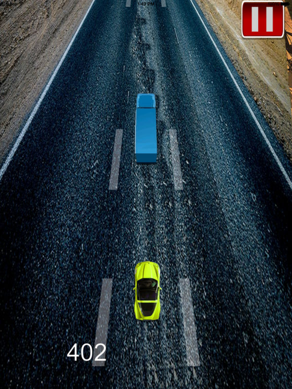 A Speed Endless To White Car Pro - A Hypnotic Game Of Driving screenshot 7