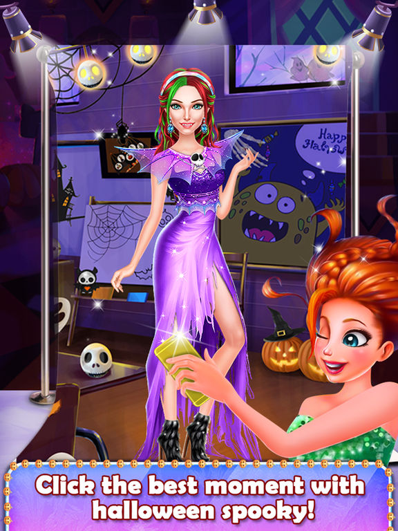 Halloween Spooky Girl Salon screenshot 7