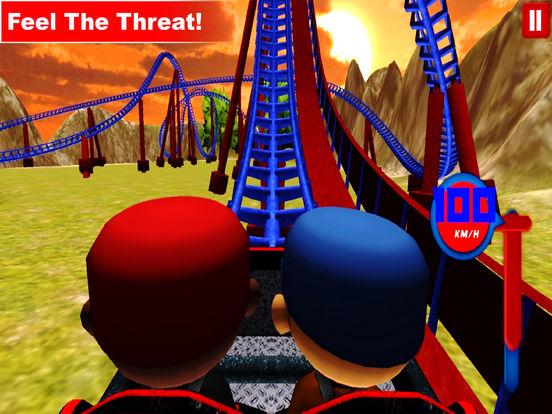 Desert Tycoon Roller Coaster : 3D Lake simulation screenshot 8
