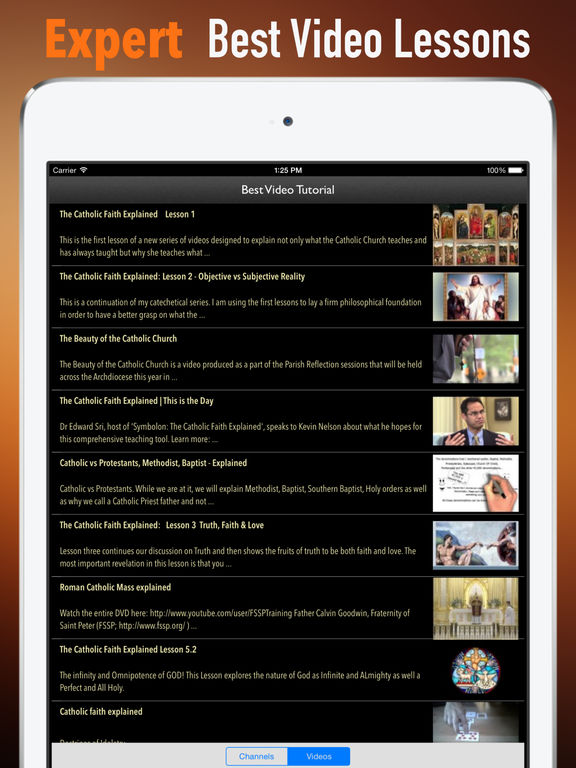 Catholic Faith Handbook:Tips and Tutorials screenshot 8