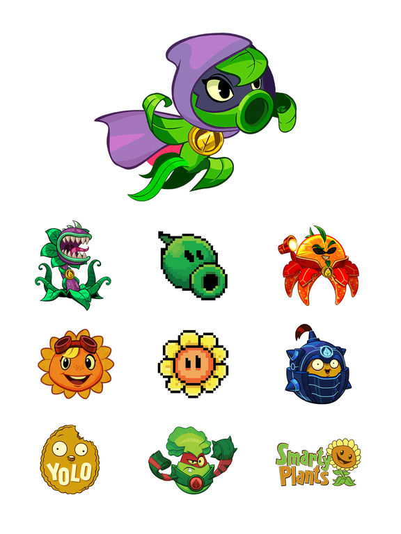 Plants vs Zombies™ Stickers screenshot 6