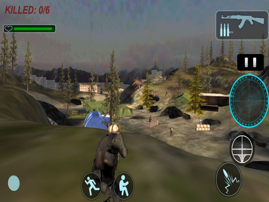 3D Commando Shooter : A Free Sniper Killer 2016 screenshot 5