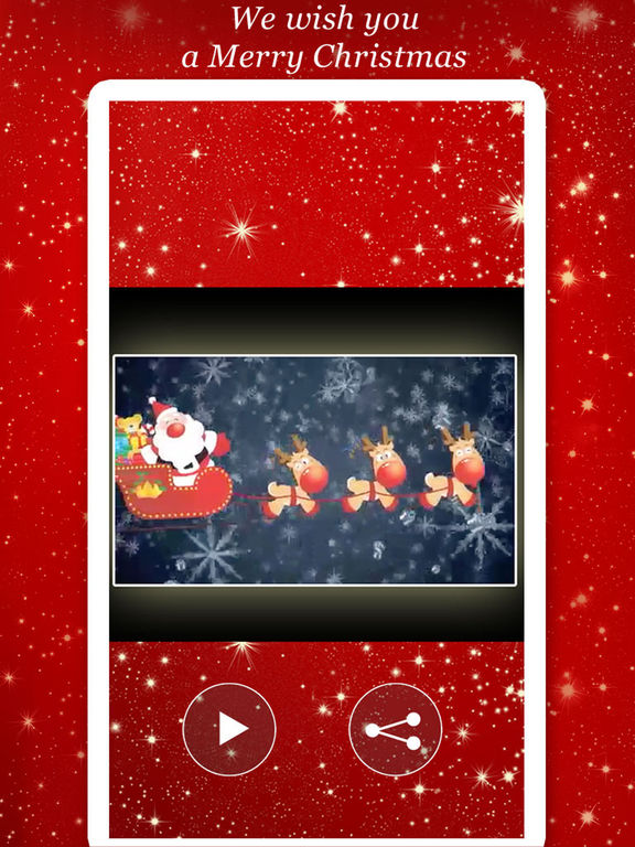 Merry Christmas Greeting Video screenshot 8