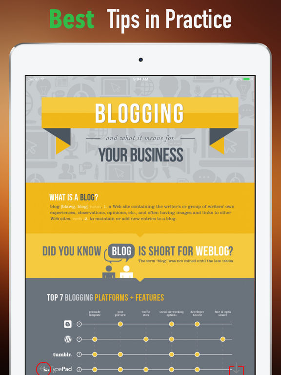 Blogging 101-Blogger Tips and Tutorial screenshot 9