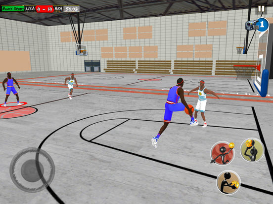Basketball LIVE slam dunks: Extreme basketball hoops to practice for NBA titles by BULKY SPORTS screenshot 8