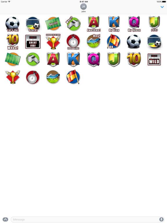 Footie Frenzy - Stickers screenshot 4