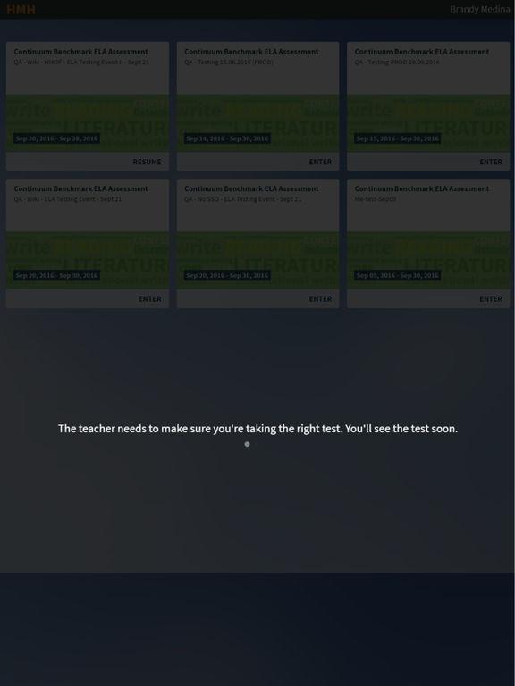 HMH Secure Browser screenshot 2