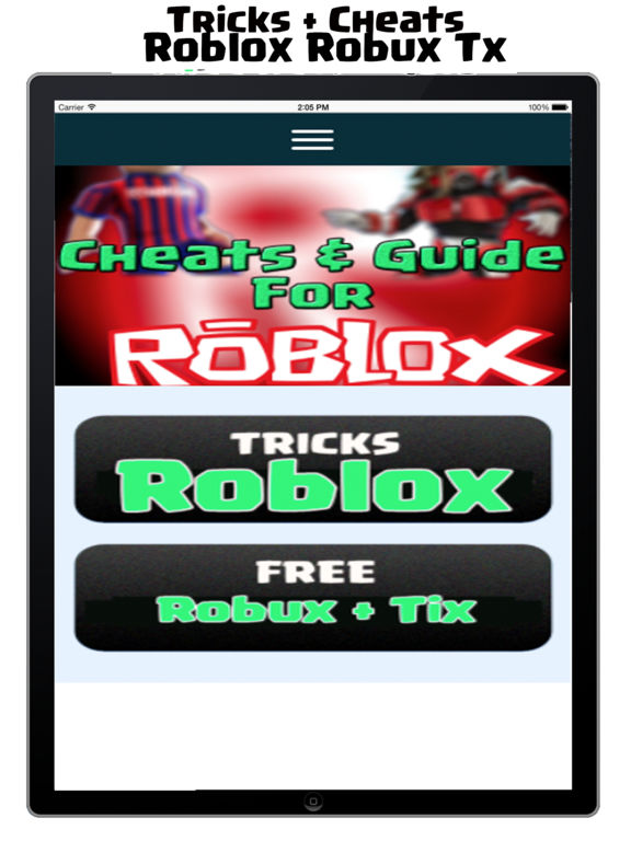 Free Cheats For Roblox Free Robux Guide Free Iphone - Robux Cheats For Roblox Free Robux Apps 148apps