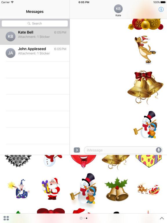 Christmas Set Stickers for iMessage screenshot 7