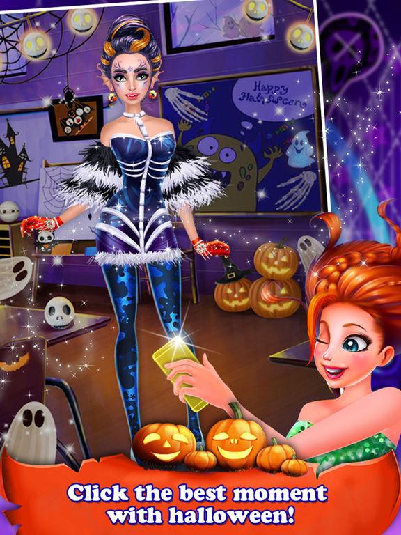 Halloween Holiday Girl Salon screenshot 10