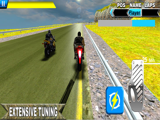 Sports Bike Rider : New Heavy Biker Race 2016 screenshot 5