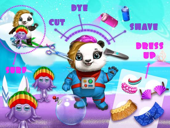 Space Animal Hair Salon – Cosmic Pets Makeover screenshot 8
