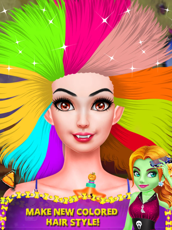 Halloween Ghost Girl Makeover screenshot 9
