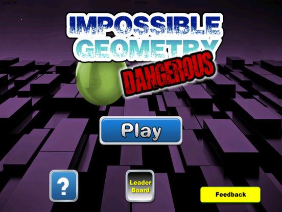 A Impossible Geometry Dangerous - A Crazy Game Balls screenshot 6