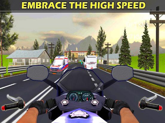 City Bike Drive : 3D Highway Ride 2016 screenshot 7