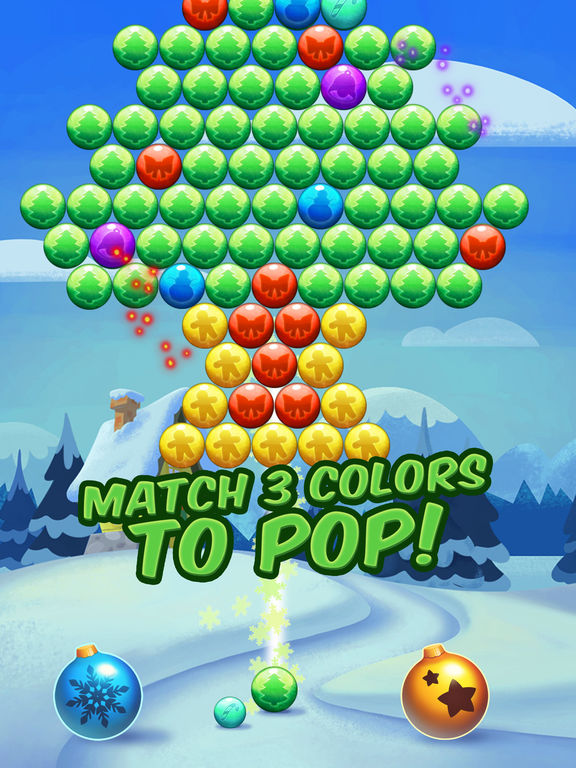 Christmas Cookie - Bubble Shooter screenshot 10