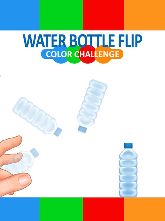 Water Bottle Flipping - Line Colors Flip Challenge screenshot 6