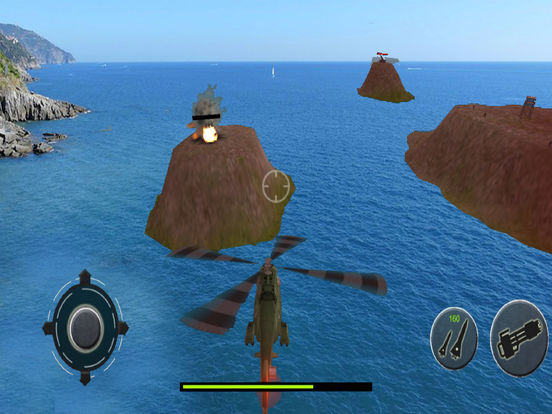 Helicopter Air Combat : New War Strategy Adventure screenshot 6