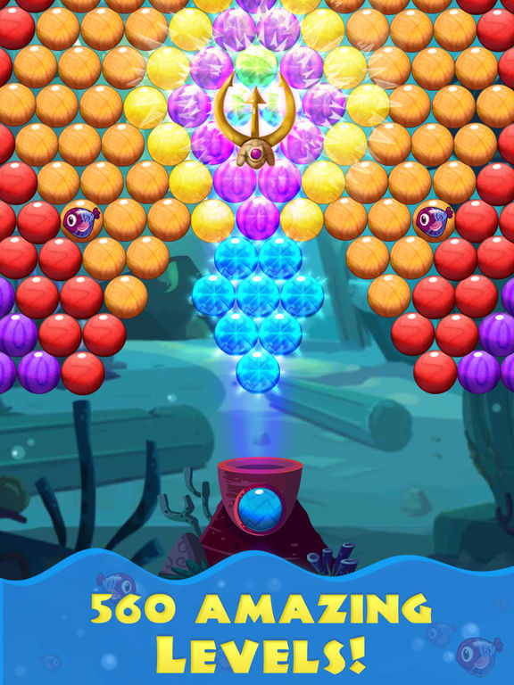 Bubble Shooter Sea screenshot 6