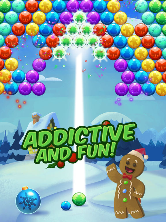 Christmas Cookie - Bubble Shooter screenshot 9