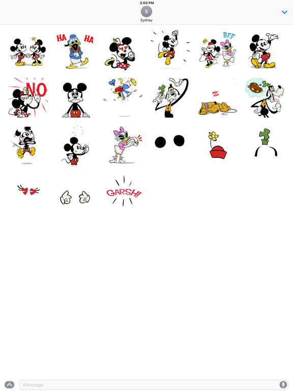Disney Stickers: Mickey screenshot 6
