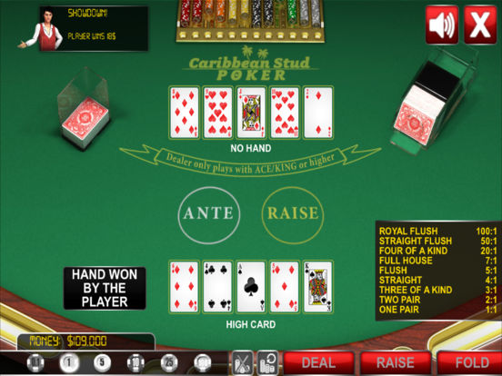 Caribbean Stud Poker ® screenshot 10