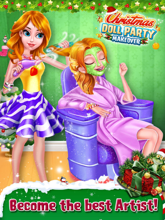 Christmas Doll Party Makeover screenshot 10
