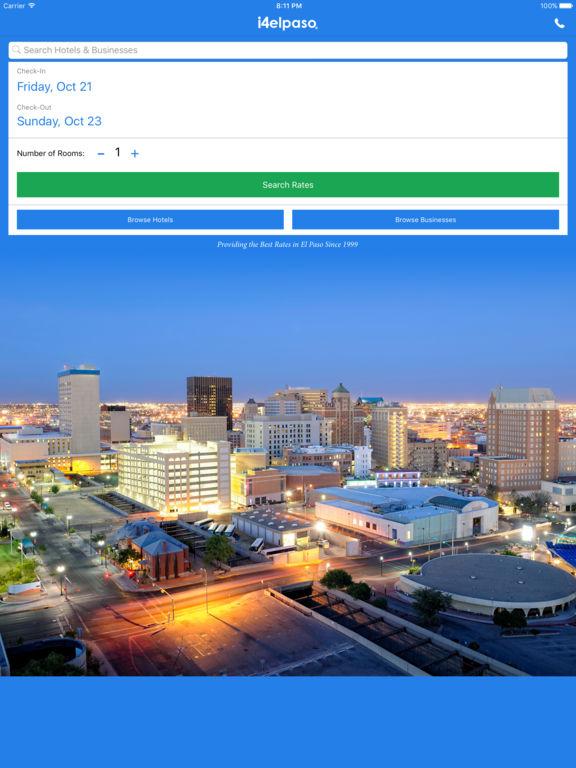 i4elpaso - El Paso Hotels & Yellow Pages Directory screenshot 6