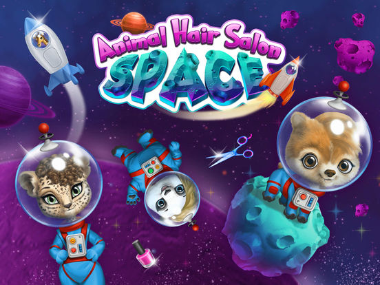 Space Animal Hair Salon – Cosmic Pets Makeover screenshot 6