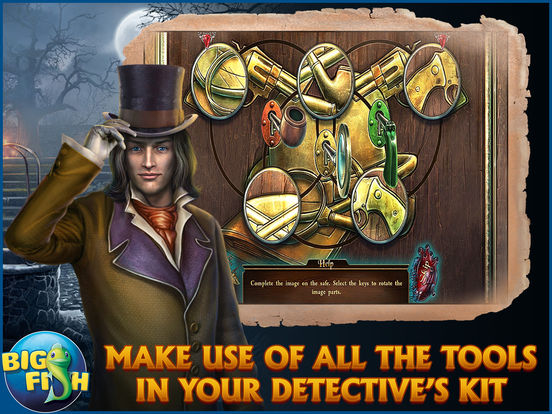 Dark Tales: Edgar Allan Poe's The Tell-tale Heart - A Hidden Object Mystery (Full) screenshot 8