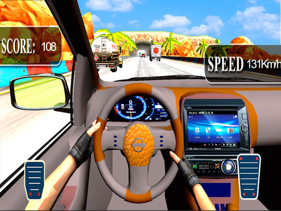 City Car Drive : New Highway Traffic Racing Game screenshot 6