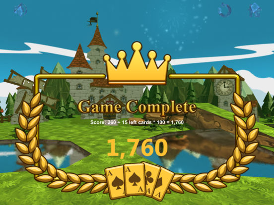 Chain Solitaire Royale screenshot 10