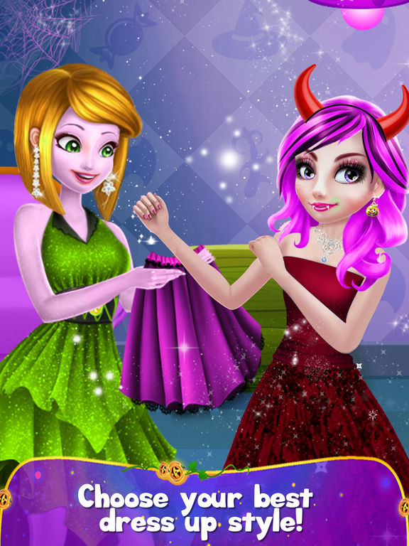 Halloween Girl Party Makeover screenshot 7