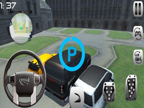 Prado car Simulation : drive 3D game screenshot 6