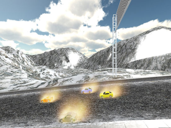 Airborne Car Race : New Free Racing Mania 2016 screenshot 6