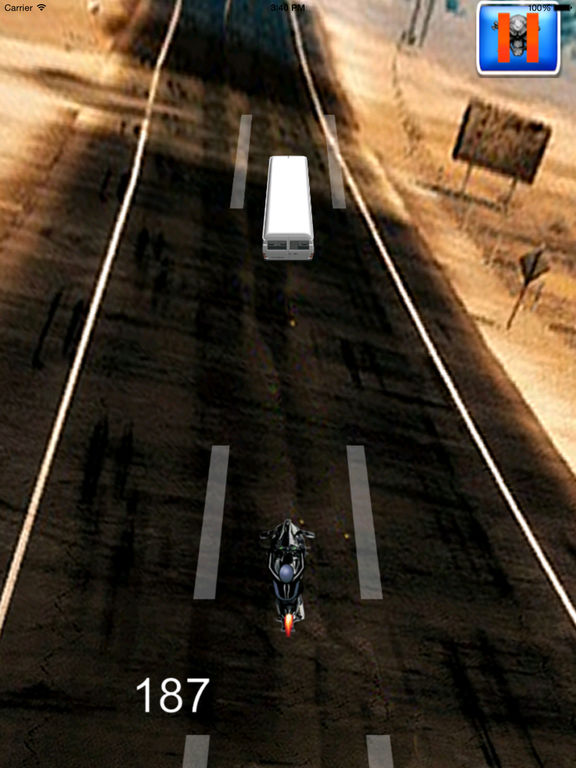 A Motorbike Rival In Race Pro - Powerful High Speed Driving screenshot 8