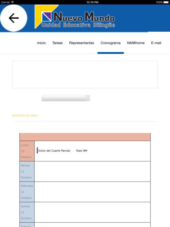 Nuevo Mundo APP screenshot 8