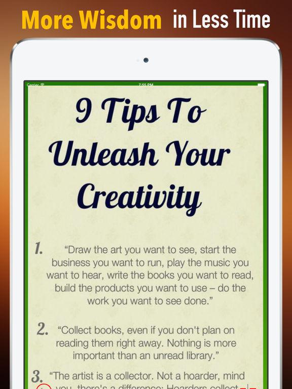 Quick Wisdom from Steal Like an Artist:10 Things screenshot 6