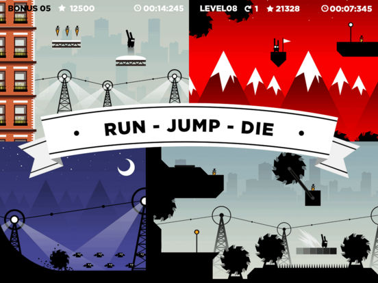 Run Rabbit Run: Hardcore Platformer screenshot 6