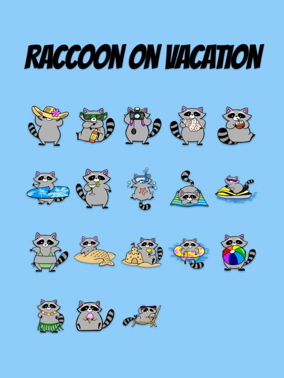 Raccoon on Vacation screenshot 5