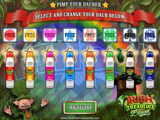 Irish Treasure Rainbow Bingo screenshot 9