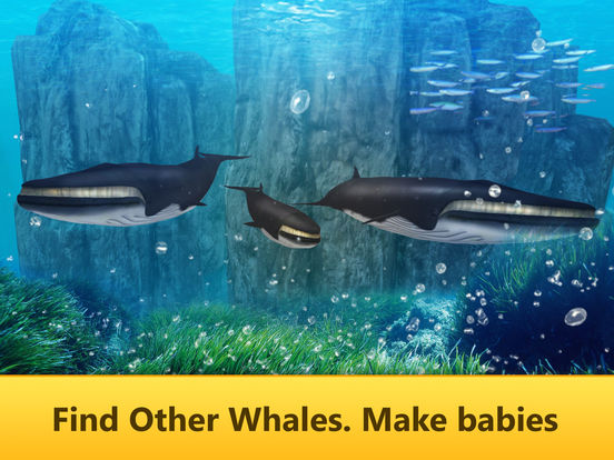Ocean Whale Simulator: Animal Quest 3D Full screenshot 6