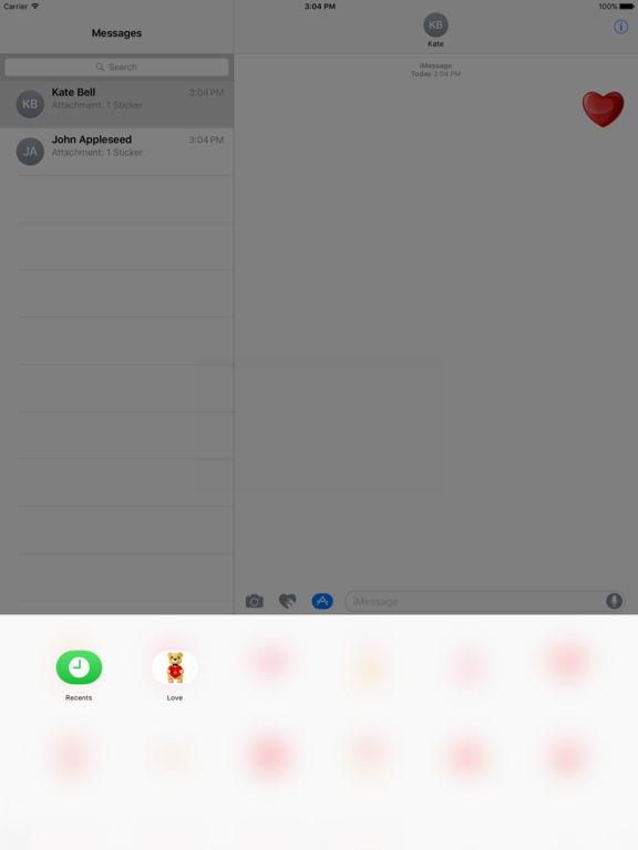 Love - Stickers screenshot 7